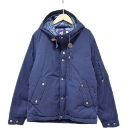 THE NORTH FACE PURPLE LABEL down jacket 65/35 MOUNTAIN SHORT DOWN PARKA navy size: M (the North Face purple label)