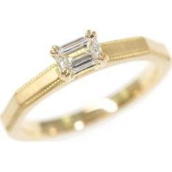 オレッキオサファリ diamond engagement ring, K18YG/750-3.3g/0.318ct/ center jewel research institute /9 /#49/fe1204k/ yellow gold /ORECCHIO ■ 289290