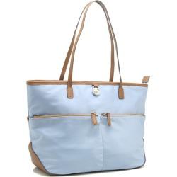 Michael Kors tote bag Kempton large pocket nylon X leather light blue 30H5SKPT outlet MICHAEL KORS/58890
