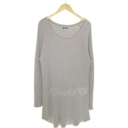 FREAKS STORE cotton thermal big raglan sleeve T-shirt gray size: M