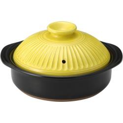 18-10 Banko ceramic ware for one 土鍋萬古焼菊花山吹 6