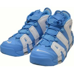 NIKE AIR MORE UP TEMPO 96 921,948-401 sneakers more up tempo sky blue X white size: 27 5cm (Nike)
