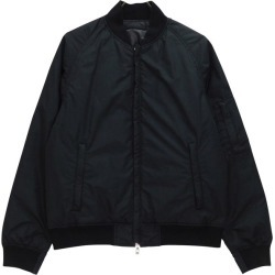 THE NORTH FACE PURPLE LABEL REVERSIBLE VARSITY DOWN JACKET down MA-1 black size: M (the North Face purple label)