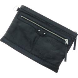 BALENCIAGA classical music clip M clutch bag