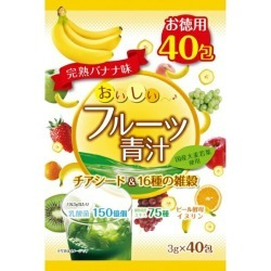 Cereals full ripeness banana taste (with 3 g of *40 pack) of delicious fruit green soup thiaseed & 16 kinds