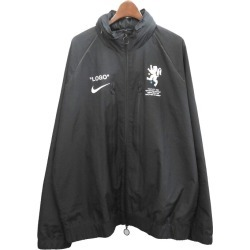 """OFF WHITE X NIKE 18SS """"Football Collection"""" truck jacket black size: L (off-white Nike)"""