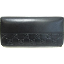 Gucci GUCCI 408837 black wallet long wallet men ★★ found on Bargain Bro India from Rakuten Global for $276.00