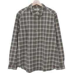 nestrobe confect Cotton Check Military Shirt 18AW