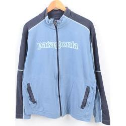 Patagonia Patagonia ORGANIC COTTON organic cotton full zip sweat shirt trainer men M /wbh1767 made in 11 years