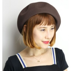 Womens Hats Beret Relaxed Silhouette Beret