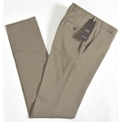 No tuck cotton cotton silk plain fabric brown tea S L/ Italy brand conducts a business with a coupon in 3, Natsuaki season in ピーティーゼロウーノ PT01 BUSINESS chino pants slacks SLIM FIT stretch pants men spring