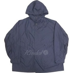 UNIVERSAL PRODUCTS 2017SS nylon hooded coat navy size: 3 (universal products)