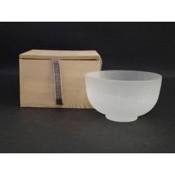 Glass bowl [Japanese dishes / Matcha porcelain bowl / Matcha bowl / tea ceremony / tea set / tea service set / curio / tea]