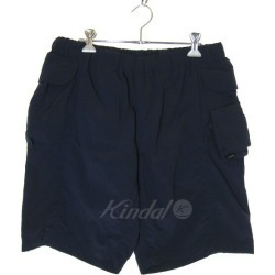Mountain Research 2,016A/W office shorts nylon short pants navy size: XL (mountain research)