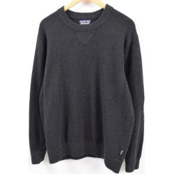 Patagonia Patagonia off country crew neck sweater 50590 polycotton knit sweater men L /wbg5044 made in 17 years