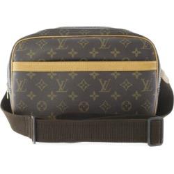Louis Vuitton monogram reporter PM, tote bag /M45254/ brown /LOUIS VUITTON/b190406 ■ 284959