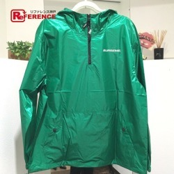Supreme シュプリームアウター Packable Ripstop Pullover 17AW nylon jacket green men