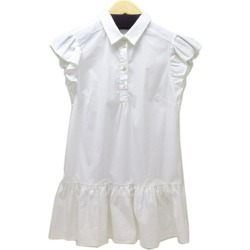 RED VALENTINO sleeve frill tunic blouse white size: 40 (red Valentino)