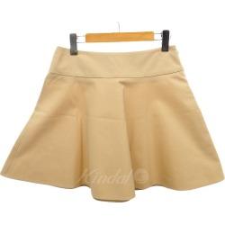 RED VALENTINO flared skirt beige size: 40 (red Valentino)
