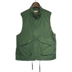 "The Engineered Garments 2019SS ""Field Vest-Cotton Ripstop"" Lipps top field best"