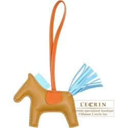 Hermes Rodeo charm PM Kraft/Celeste Agneau found on Bargain Bro India from Rakuten Global for $839.00