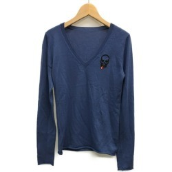It is ルシアンペラフィネ long sleeves knit Lady's SIZE XS (less than XS) Lucien Pellat-Finet until - 9/3 23:59 at 9/2 18:00