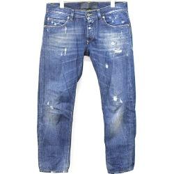 DOLCE & GABBANA Dolce & Gabbana 15AW 14GOLD crash processing denim underwear indigo 46 men