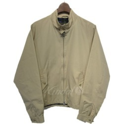 TRAFALGAR SHIELD Harrington jacket beige size: 36 (thoraFall garfish shield)