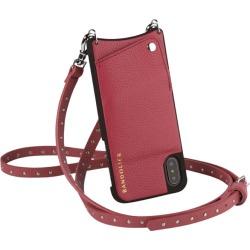 BANDOLIER NICOLE MAGENTA RED iPhone 8 7 6s 6 belt re-yeah case shoulder smartphone eyephone leather men gap Dis magenta red 10NIC1001 [2/1 Shinnyu load] [192]