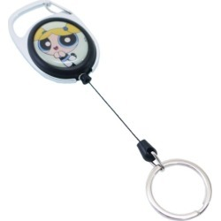 To key ring Nakajima Corporation lengthening key ring gift ZAKKA teens miscellaneous goods mail order marshmallow pop 10/11 with the bubbles power puff girls reel