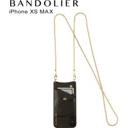 BANDOLIER band re-yeah iPhone XS MAX case smartphone carrying eyephone BELINDA GOLD men gap Dis black black 2002