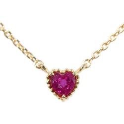 Vendome Aoyama ruby necklace pendant /K18YG/750-1.6g/ yellow gold /Vendome Aoyama ■ 292245
