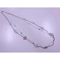 Glass necklace sect sou
