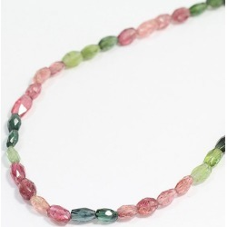 Consecutive necklace tourmaline necklace silver (SILVER) jewelry netshop
