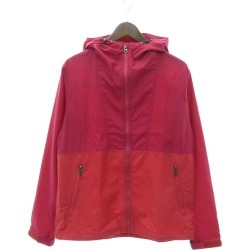 THE NORTH FACE COMPACT JACKET mountain parka compact jacket shocking pink size: XL (the North Face)