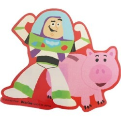 To seal die cut sticker Toy Story 4 buzz & ハムディズニーデルフィーノコレクション miscellaneous goods petit gift mail order 10/11