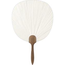 Cannot Ship In Real School Cedar Pattern White Solid Fan Side Hand Co