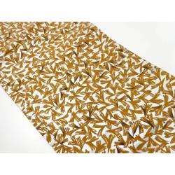 Ginkgo leaf design Nagoya style sash sect sou