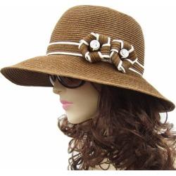 Lady's Hat Straw Hat Straw Straw Hat Straw Commelina