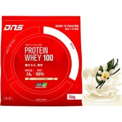 ▼350 g of ▼ DNS (D N S) プロテインホエイ 100 Rich vanilla flavors (mass intakes type プロテインホエイプロテイン WHEY100 muscular workout protein protein powder) during the coupon distribution