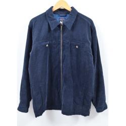Patagonia Patagonia cord warmer jacket fleece liner corduroy jacket men L /wbg9158 made in 2006