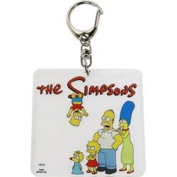 To key ring key ring acrylic Simpson's family Small planet bag charm petit gift mail order 10/29