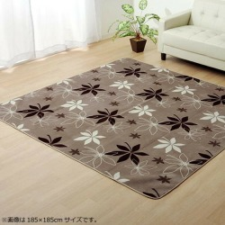 "Rag carpet ""WS planter"" brown approximately 200*250cm (hot carpet correspondence) 9810938"