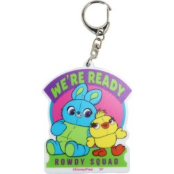 To key ring acrylic key ring Toy Story 4 ducky & bunny WH Disney Small planet collection miscellaneous goods gift miscellaneous goods mail order 9/11
