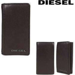 Six diesel DIESEL key case key ring men leather FRESH STARTER KEYCASE O X04462 PR227 H6607 brown