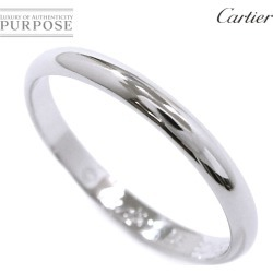 Cartier Cartier classical music #56 ring Pt950 2.5mm in width platinum ring