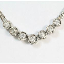 Diamond 0.32ct necklace platinum (Pt900)/ platinum (Pt850) jewelry netshop in total