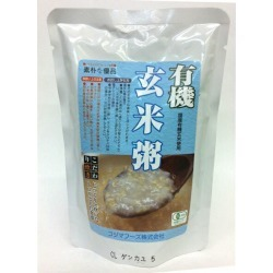 Organic brown rice がゆ one piece of article [cancellation, change, returned goods impossibility]