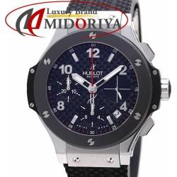 ウブロ HUBLOT Big Bang automatic chronograph rubber carbon black 342.SB.131.RX /36507 watch