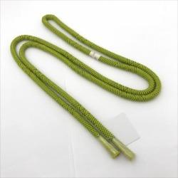 Yellowish green all shop hd of the obi cord kimono liver